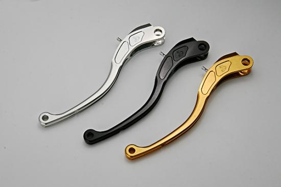 K-FACTORY Kファクトリー ケイファクトリー ビレットクラッチレバーC3/タイプR カラー:ストロングゴールド