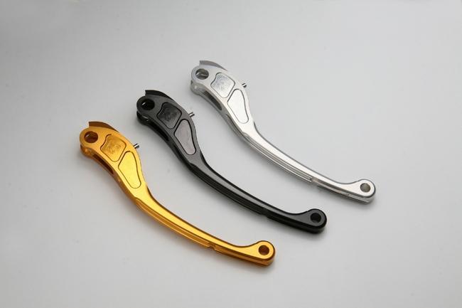K-FACTORY Kファクトリー ケイファクトリー ビレットブレーキレバーB1/タイプR カラー:スーパーブラック CB1100 CB1300スーパーフォア CB400スーパーボルドール