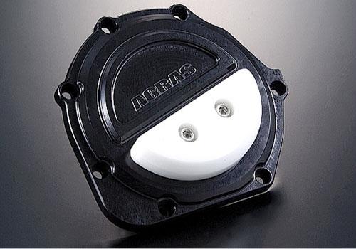 AGRAS アグラス ガード・スライダー レーシングスライダー カラー:ジュラコン/ブラック GPZ900R