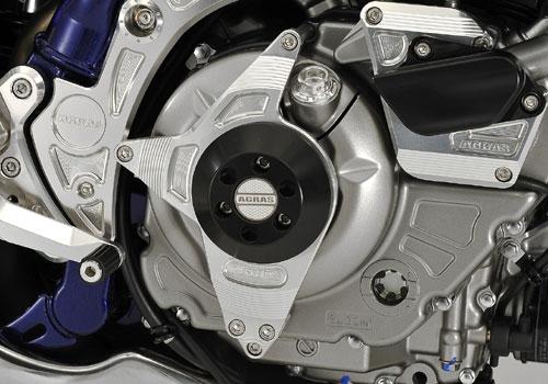 AGRAS アグラス ガード・スライダー レーシングスライダー カラー:ジュラコン/ブラック グラディウス400