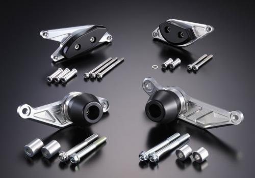 AGRAS アグラス ガード・スライダー レーシングスライダー カラー:ジュラコン/ブラック B-KING