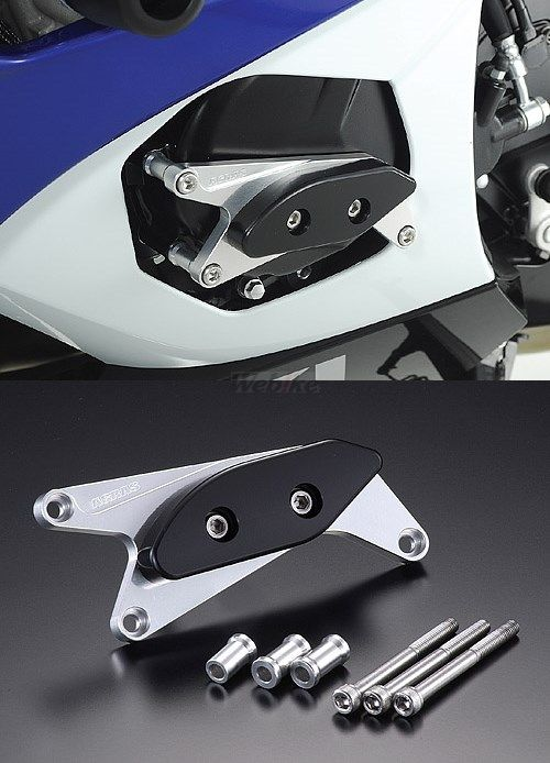 AGRAS アグラス ガード・スライダー レーシングスライダー カラー:ジュラコン/ブラック GSX-R1000