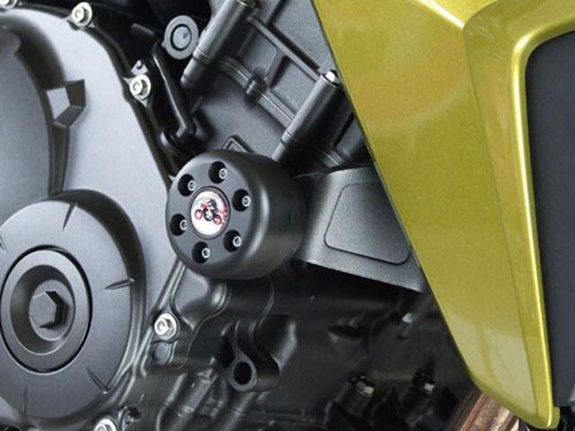 P&A International パイツマイヤーカンパニー ガード・スライダー 衝撃吸収ダンパー内蔵クラッシュパッド X-Pad ショート(45mm) カラー:ブルー CB1000R