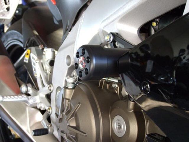 P&A International パイツマイヤーカンパニー ガード・スライダー 衝撃吸収ダンパー内蔵クラッシュパッド X-Pad カラー:アルミニウムシルバー RSV4 RSV4 FACTORY