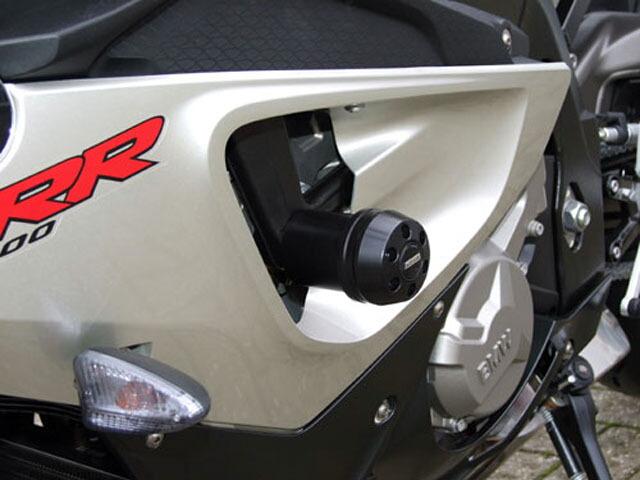 P&A International パイツマイヤーカンパニー ガード・スライダー 衝撃吸収ダンパー内蔵クラッシュパッド X-Pad カラー:アルミニウムシルバー S1000RR