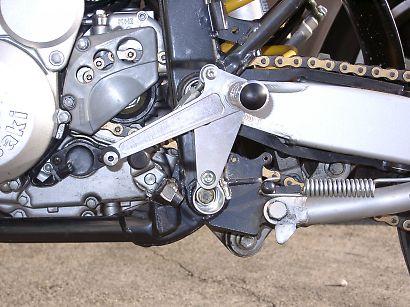 K&T ケイアンドティー バックステップ レーシングステップキット カラー:ブラックアルマイト仕様 D-TRACKER [Dトラッカー]