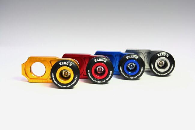 ZERO-G ゼロジー ガード・スライダー リヤアクスルスライダー カラー:ゴールド WR250F WR250R WR250X WR450F YZ250F YZ450F