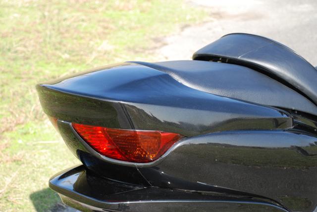 Rible リブレ スクーター外装 スムージングスポイラー カラー:ウィニングレッド FORZA[フォルツァ](MF08)