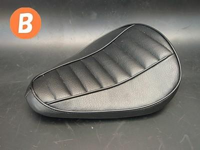 部品屋K&W シート本体 専用ソロシートキット リジットタイプ (ステッチ) カラー:薄茶 スティード400 スティード600