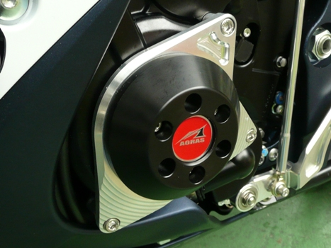 AGRAS アグラス ガード・スライダー レーシングスライダー ジュラコンカラー:ブラック GSX-R600 GSX-R750