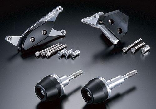 AGRAS アグラス ガード・スライダー レーシングスライダー ジュラコンカラー:ブラック (ロゴ有) GSX-R1000