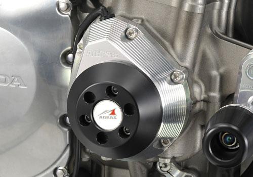 AGRAS アグラス ガード・スライダー レーシングスライダー ジュラコンカラー:ブラック CB1300スーパーフォア