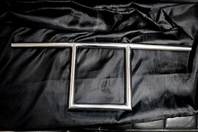 部品屋K&W ハンドルバー Tバー サイズ:1インチ 汎用