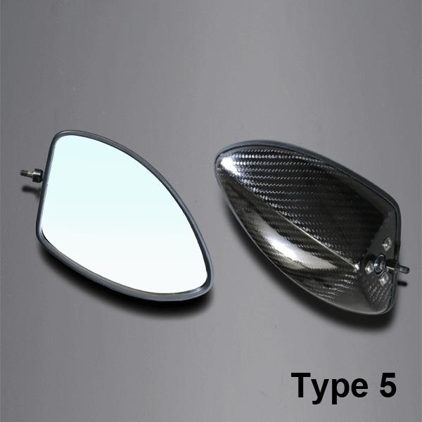 A-TECH エーテック Aテック ミラー類 フルアジャスタブルドライカーボンミラー ネイキッドモデル汎用 シャフトタイプ:回転シャフト ネジタイプ:正ネジ/逆ネジ ミラータイプ:5
