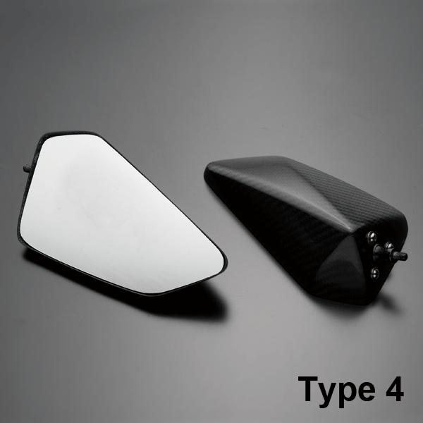 A-TECH エーテック Aテック ミラー類 フルアジャスタブルドライカーボンミラー ネイキッドモデル汎用 シャフトタイプ:ミラーシャフト Lサイズ ネジタイプ:正ネジ/逆ネジ ミラータイプ:4