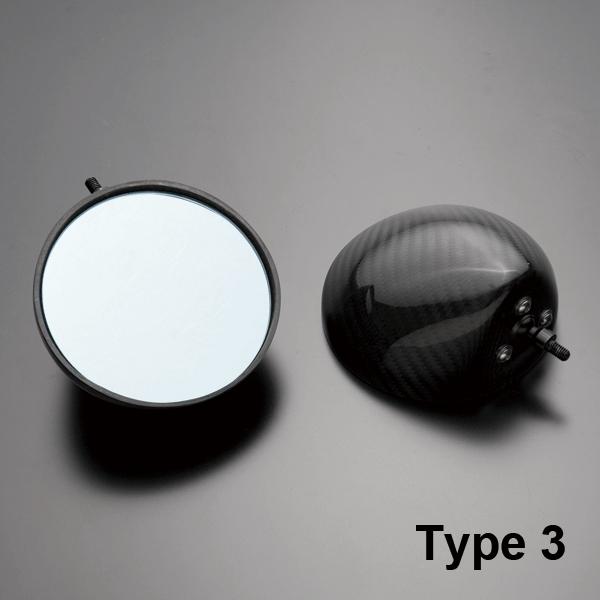 A-TECH エーテック Aテック ミラー類 フルアジャスタブルドライカーボンミラー ネイキッドモデル汎用 シャフトタイプ:ミラーシャフト Lサイズ ネジタイプ:正ネジ/逆ネジ ミラータイプ:3