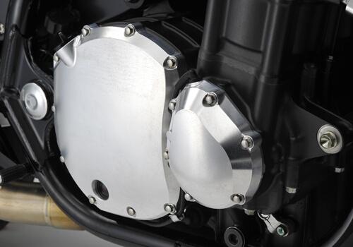 ヤマモトレーシング YAMAMOTO RACING ライトエンジンカバー カラー:ブラックアルマイト CB1300スーパーフォア
