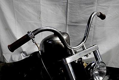 部品屋K&W ハンドルバー SO-CALバー サイズ:1インチ(ブラック) 250TR