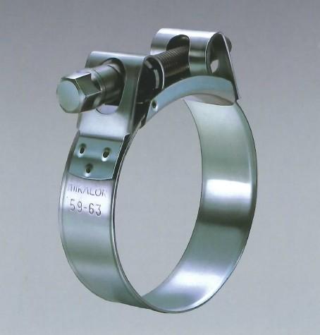 澤久工業 サワキュウコウギョウ 汎用外装部品・ドレスアップパーツ スープラクランプ W4 オールステンレス サイズ:85?91mm