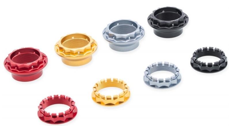 【在庫あり】CNC Racing CNCレーシング その他外装関連パーツ リアホイールナット カラー:レッド