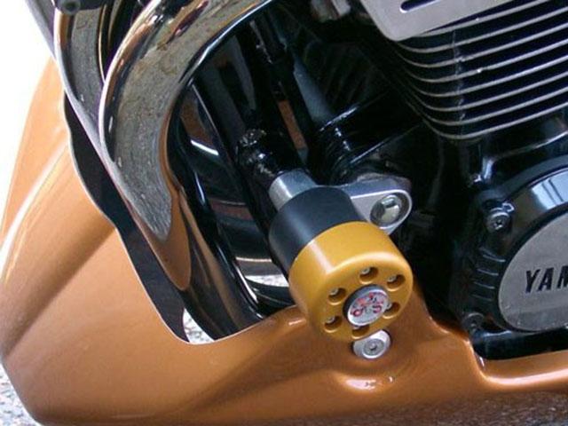 【ポイント5倍開催中!!】【クーポンが使える!】 P&A International パイツマイヤーカンパニー ガード・スライダー クラッシュパッド X-Pad カラー:メタリックシルバー XJR1200 XJR1300