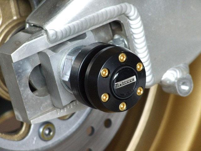 P&A International パイツマイヤーカンパニー ガード・スライダー スイングアームプロテクション X-Pad (エックスパッド) MT-09 (-16)/(17-) MT-09 TRACER (15-)
