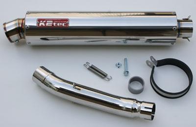K2TEC ケイツーテック スリップオンマフラー CBR250R NITRO「ニトロ」 ステンレス 出口形状:3Pタイプ CBR250R (2011-)