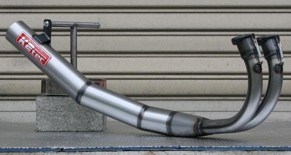 K2TEC ケイツーテック ストレート集合クリアー チャンバー RZ250R RZ350R