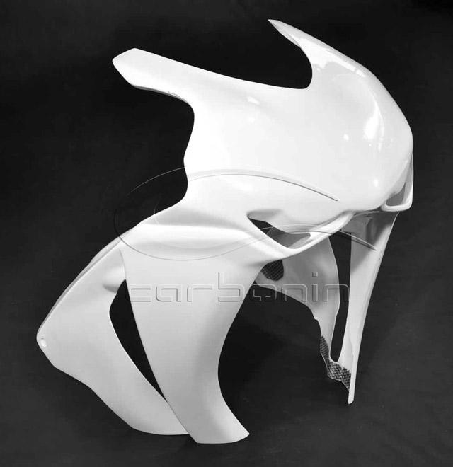Carbonin カーボニン アッパーカウル ロードタイプ 素材:強化ファイバーグラス CBR1000RR