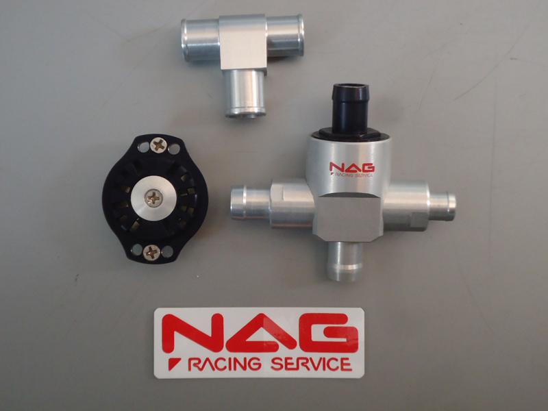 NAG racing service ナグレーシングサービス 強制減圧型内圧コントロールバルブ【レース】 12φ