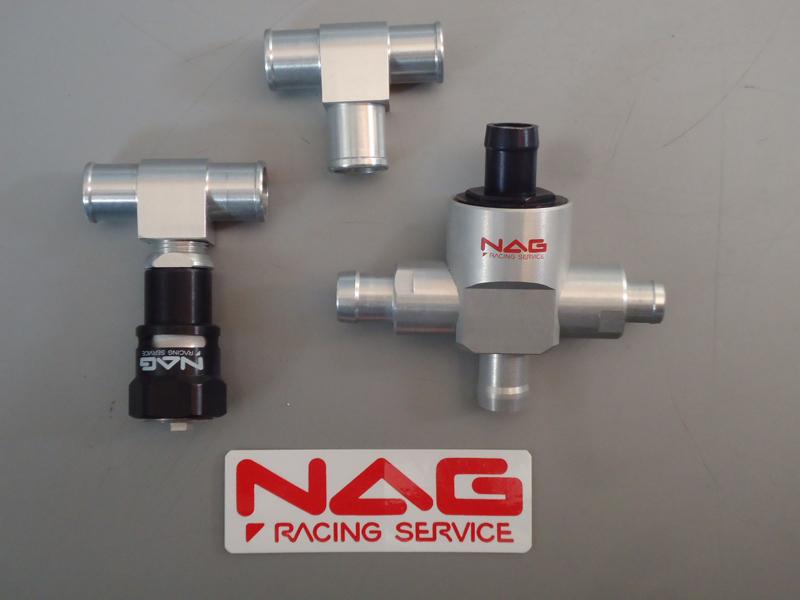 12φ racing ナグレーシングサービス service 強制減圧型内圧コントロールバルブ【ストリート】 NAG