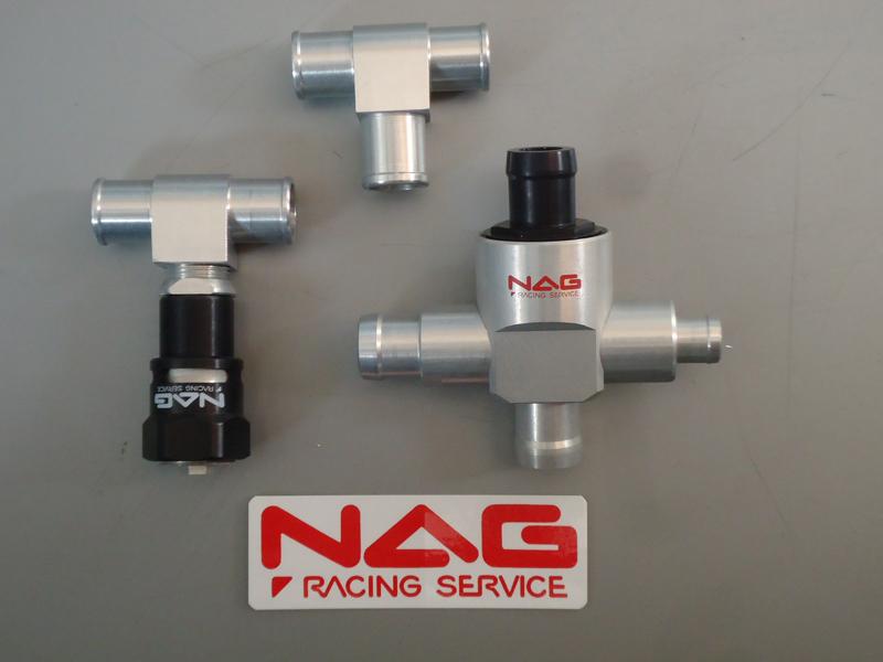 NAG racing service ナグレーシングサービス 強制減圧型内圧コントロールバルブ【ストリート】 14φ