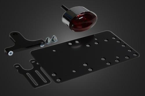 ガレージT&F ナンバープレート関連 サイドナンバーキット ミディアムキャッツアイテールランプ