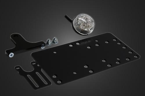 ガレージT&F サイドナンバーキット 丸型テールランプ LED