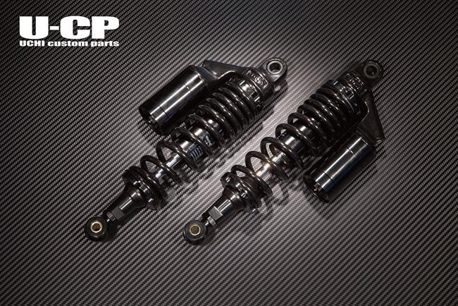 U-CP ユーシーピー リアサスペンション カラー:ブラック/ブラック イナズマ1200(GSX1200)