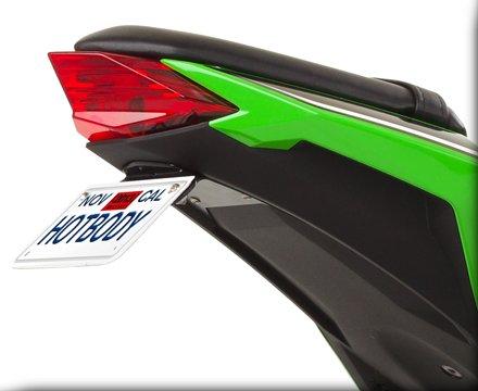 HOT BODIES RACING ホットボディーズ レーシング フェンダーレスキット カラー:艶無ブラック [206942] NINJA300 [ニンジャ300]