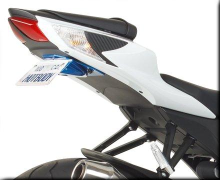 HOT BODIES RACING ホットボディーズ レーシング フェンダーレスキット カラー:艶有ブラック(グロスブラック) [206854] GSX-R600 GSX-R750