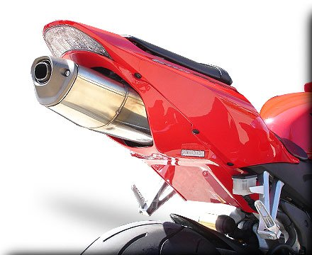 HOT BODIES RACING ホットボディーズ レーシング フェンダーレスキット アンダーテール (フェンダーレス) カラー:艶有ブラック(グロスブラック) - 05-06 [209121] CBR600RR