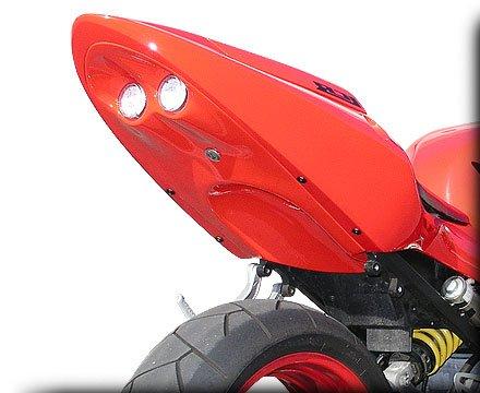 HOT BODIES RACING ホットボディーズ レーシング フェンダーレスキット アンダーテール (フェンダーレス) カラー:ウイニングレッド - 01-03 [0521-0060] CBR600F4i