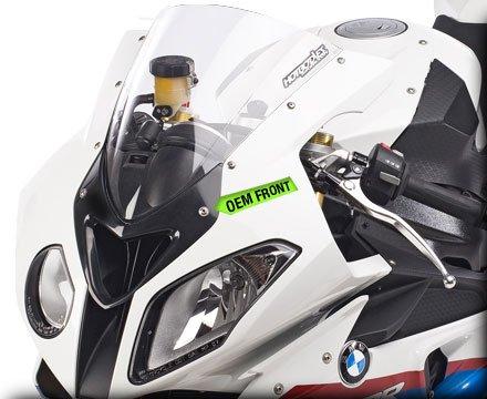 HOT BODIES RACING ホットボディーズ レーシング ウインドスクリーン 仕様:GP ウインドスクリーン (ダブルバブル) クリア [2301-1367] S1000RR 2010-2014