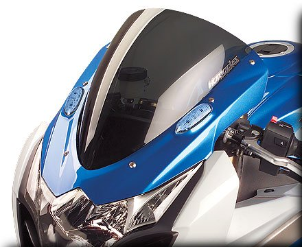 HOT BODIES RACING ホットボディーズ レーシング ウインドスクリーン 仕様:SS ウインドスクリーン (純正形状) スモーク [2301-1064] GSX-R1000 2009-2015