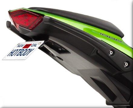 HOT BODIES RACING ホットボディーズ レーシング フェンダーレスキット カラー:艶有ブラック(グロスブラック) [206947] ニンジャ1000 (Z1000SX)
