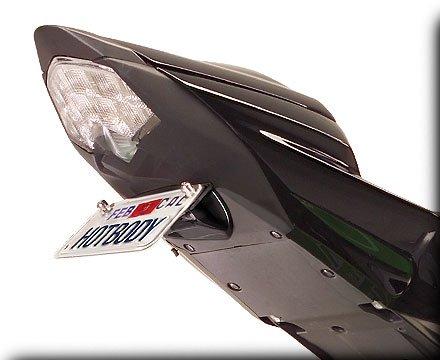 HOT BODIES RACING ホットボディーズ レーシング フェンダーレスキット カラー:艶無ブラック [206905] ZX-6R Ninja 2009-2012