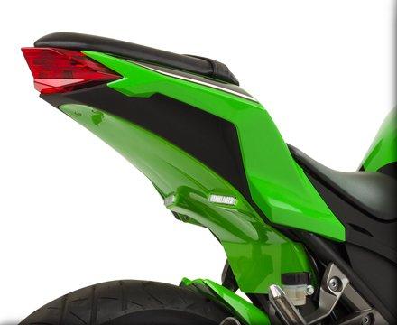 HOT BODIES RACING ホットボディーズ レーシング フェンダーレスキット アンダーテール (フェンダーレス) カラー:ライムグリーン [0521-1215] EX300R Ninja 2013-2016