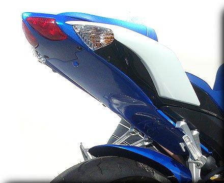 HOT BODIES RACING ホットボディーズ レーシング フェンダーレスキット アンダーテール (フェンダーレス) カラー:パール スプラッシュホワイト - 08-09 600/750 [209288] GSX-R600 GSX-R750