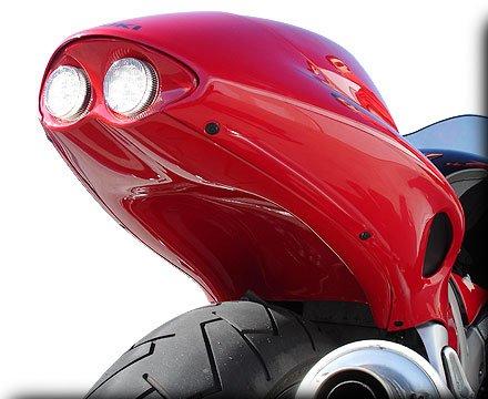 HOT BODIES RACING ホットボディーズ レーシング フェンダーレスキット アンダーテール (フェンダーレス) カラー:パール クリスタルレッド - 04-05 [207956]