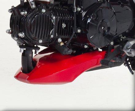 HOT BODIES RACING ホットボディーズ レーシング アンダーカウル カラー:レッド [0521-1223] MSX125 GROM