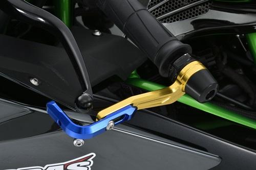 AGRAS アグラス ハンドガード レバーガード カラー:ガードエンド/ブラック・ガードステー/ゴールド・ジュラコン/ホワイト ニンジャ H2