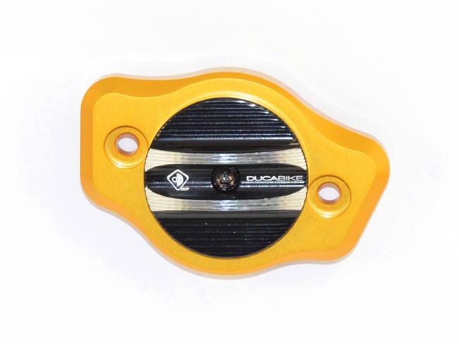 【イベント開催中!】 DUCABIKE ドゥカバイク アルミビレット・カムシャフトカバー カラー:ゴールド/ブラック