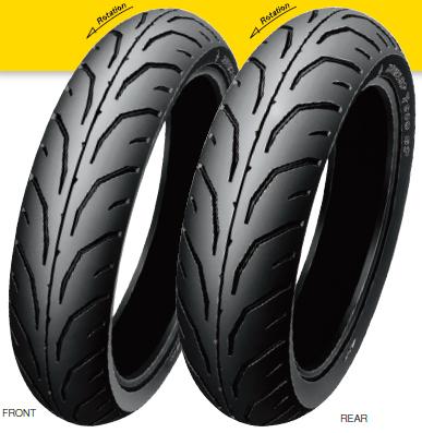 DUNLOP ダンロップ オンロード・ハイグリップ GP SERIES TT900GP【140/70-17 M/C 66H TL】ジーピーシリーズ タイヤ